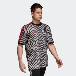 Adidas Tango Icon Zebra Soccer Jersey Sz L